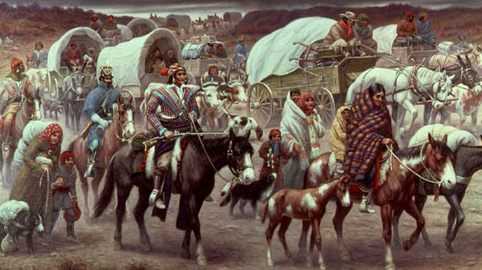 Race History Indian Wars And Westward Expansion