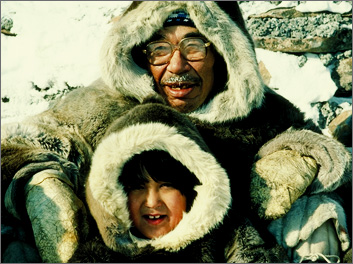People in the Arctic